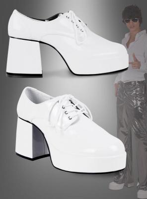 Weiße Schuhe für Herren
