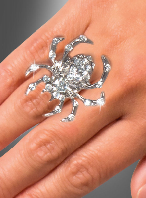 Spider Gem Ring