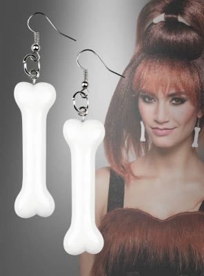 Knochenschmuck Ohrringe