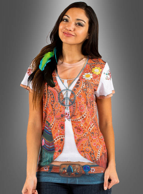 Hippie Shirt Damen
