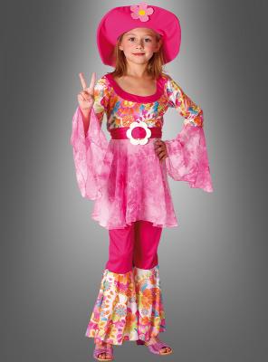 Hippiekostüm für Kinder Luna
