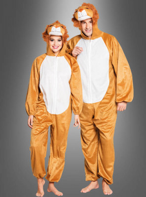 Plush Lion Costume Unisex Adult