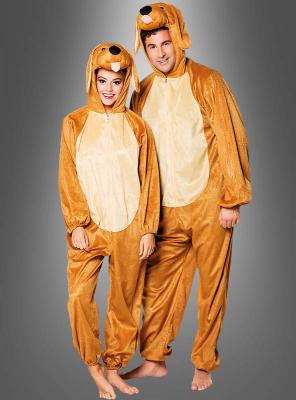 Hundekostüm für Damen und Herren