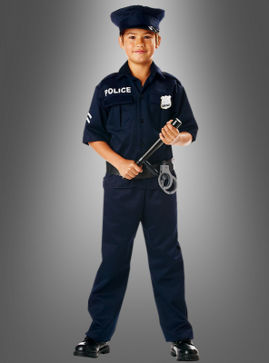 US Cop Children Costume