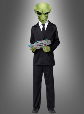 Child Alien Agent costume
