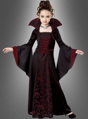 Vampir Königin Kinderkostüm