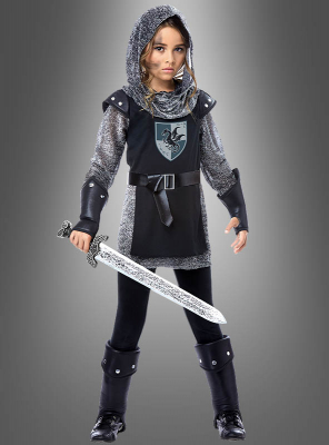 Ritter Kostüm für coole Mädchen