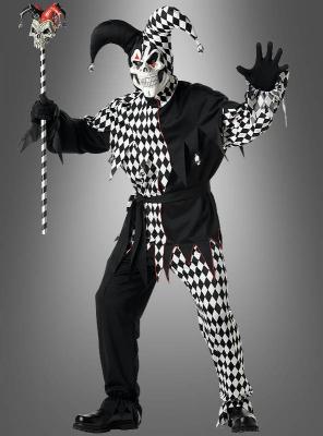 Evil Jester Costume Adult