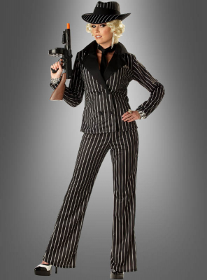 Gangster Lady Women Costume