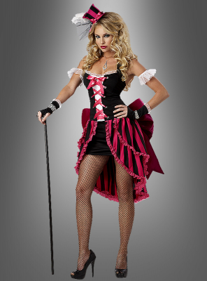 Sexy Parisian Showgirl Costume