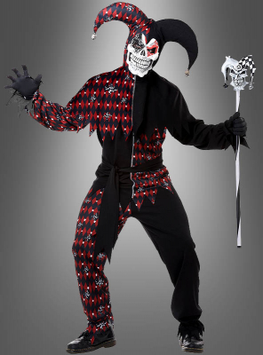 Psycho Jester Halloween Costume