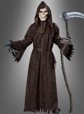 Grim Reaper Kostüm Mittelalterlicher Tod