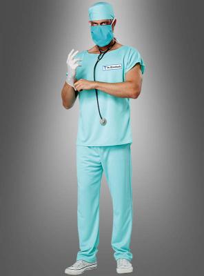 Halloween Zombie Doctor Costume