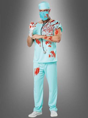 Halloween Zombie Doktor Kostüm