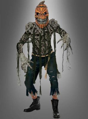 Kürbis Kostüm für Herren Kreatur