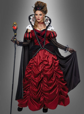 Queen of Hearts Ball Gown Deluxe Costume
