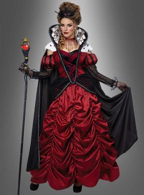 Herzkönigin Ballkleid Deluxe Kostüm