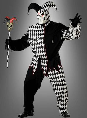 Evil Killer Voodoo Clown Halloween Latex Maske Kostüm Zombie Totenkopf