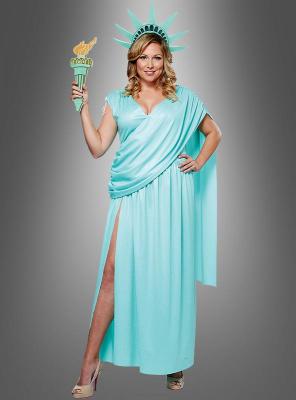 XXL XXXL Lady Liberty costume deluxe
