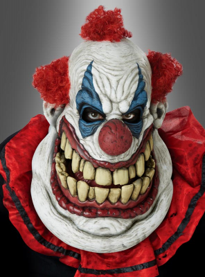 Clown Maske Monsterclown Ani-Motion Maske