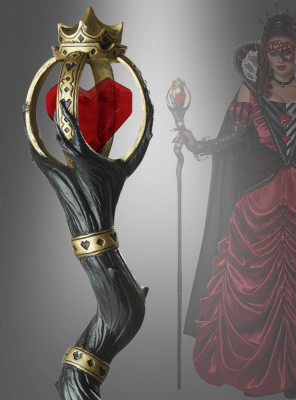 Zepter Königin der Herzen 150 cm
