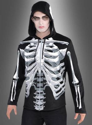 Skeleton Hoodie Jacket