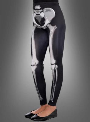 Skeleton Leggings for Kids