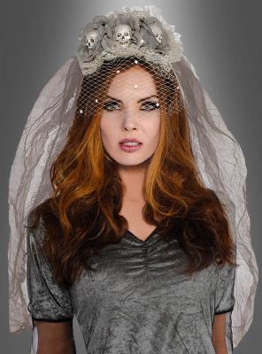 Brautschleier Halloween für Geisterbraut