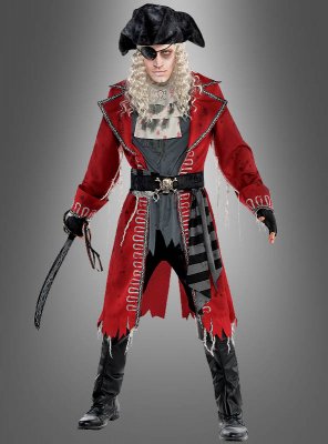 Zombie Pirate Captain Costume