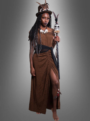 Voodoo Witch Woman Costume
