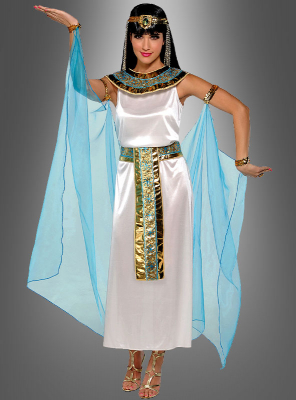 Kleopatra Damenkostüm weiß