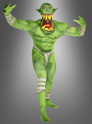 Orc Morphsuit green Big Mouth