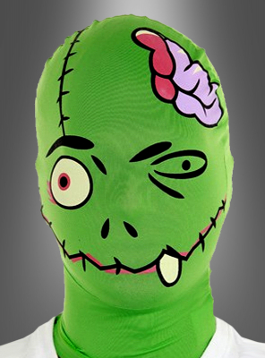 Grüne Frankensteins Monster Maske