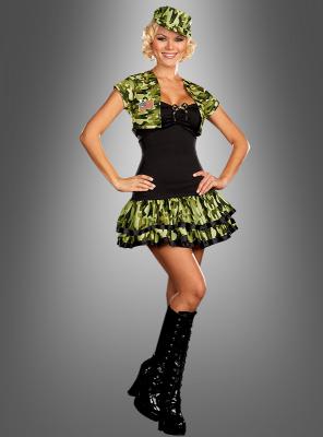 Sexy Army Soldatenbraut Kostüm