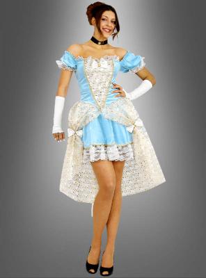 sexy Barock Kleid kurz für Damen