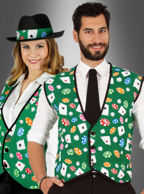 Casino Vest for gambling Men