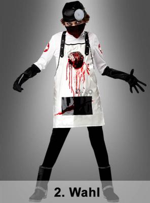 Horror Doktor Kinderkostüm 2. Wahl