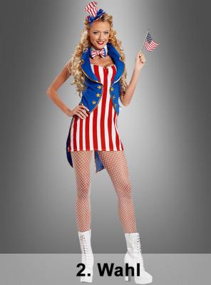 2. Wahl USA Columbia Kostüm