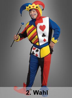 Hofnarr Kartenspiel Kostüm 2. Wahl