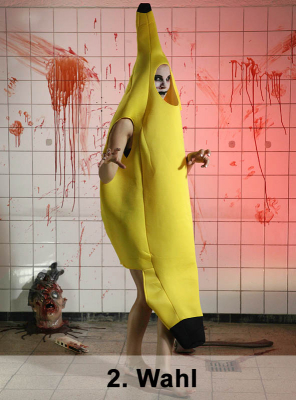 Genmanipulierte Banane 2. Wahl