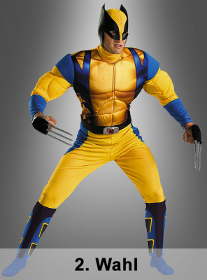 2. Quality X Men Wolverine Muscle costume