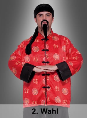 2. Wahl Chinese Chinamann Kostüm