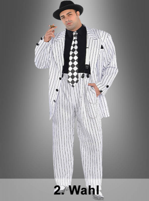 2. Rate Pinstripe Daddy Gangster Costume Plus Size