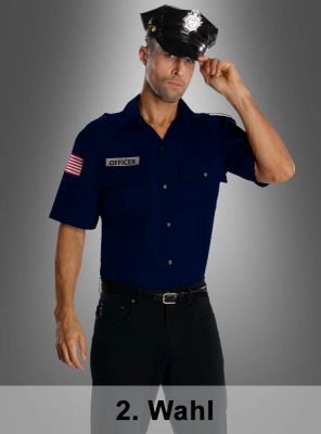 2. Wahl Uniform Polizei US Officer Kostüm