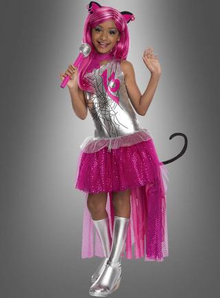 Catty Noir Monster High Kostüm silber-pink