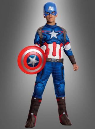 Captain America Kostüm Kinder Muskelkostüm deluxe