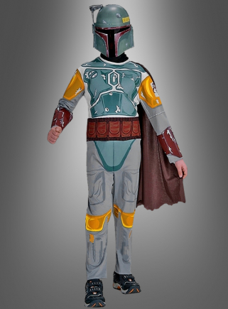 Boba fett costume children