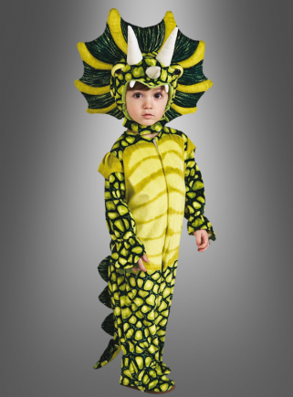 Triceratops dinosaur costume for children