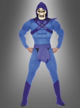 Skeletor Bösewicht Muskel Kostüm Erw.