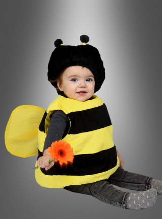 Bee Costume for Babys with wings